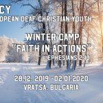 EDCY Winter Camo 2019